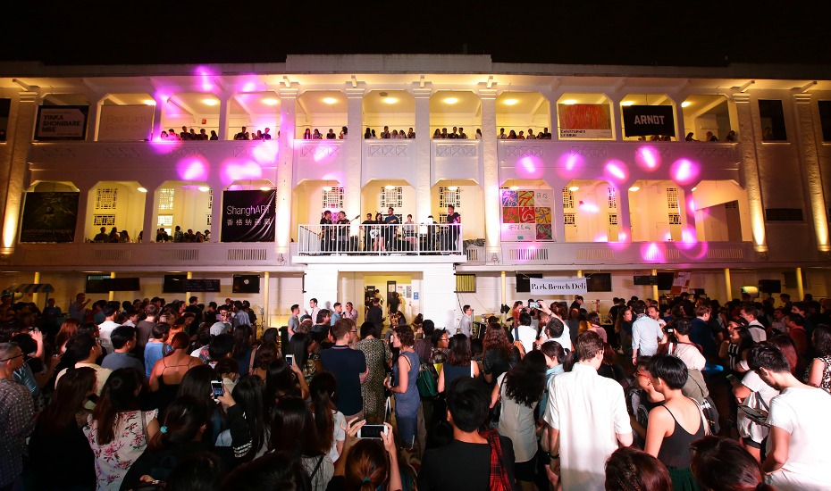 Art After Dark at Gillman Barracks is just one of the many highlights not to miss during Singapore Art Week