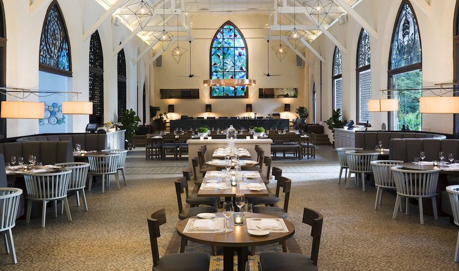 Romantic restaurants in Singapore: The White Rabbit