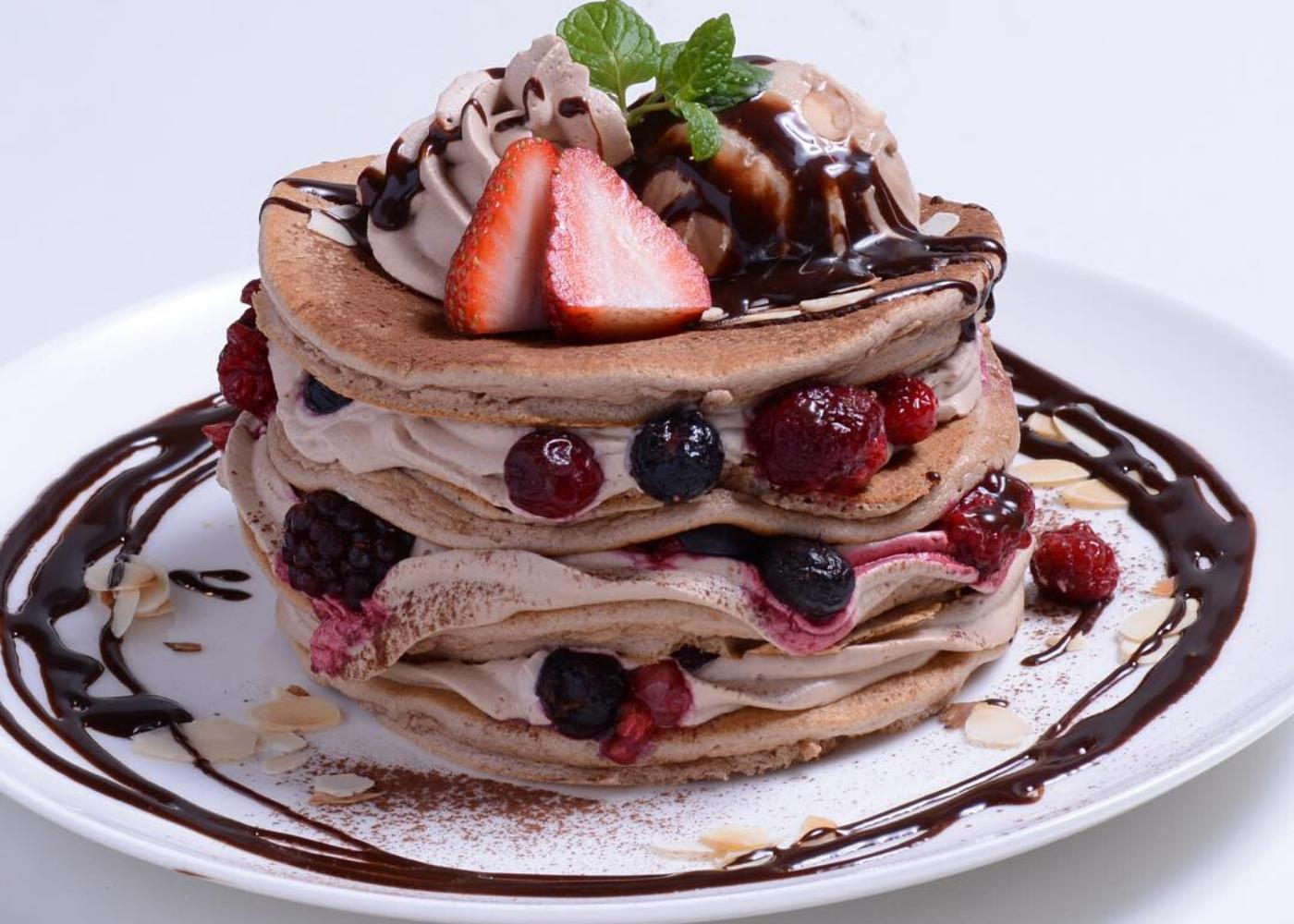 Belle-Ville Pancake Cafe   Pancakes in Singapore