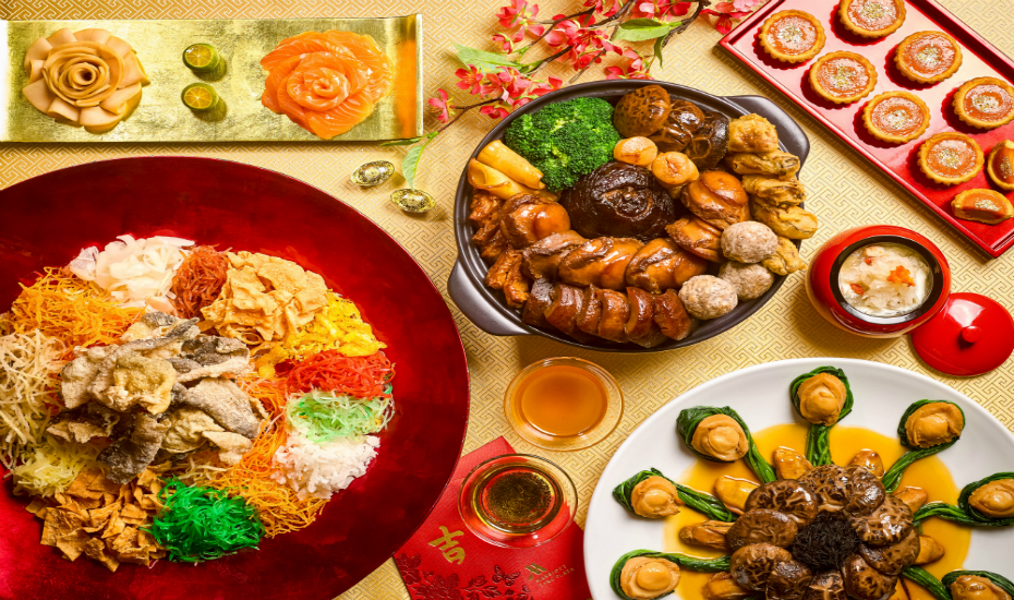 An exquisite Chinese New Year feast awaits!