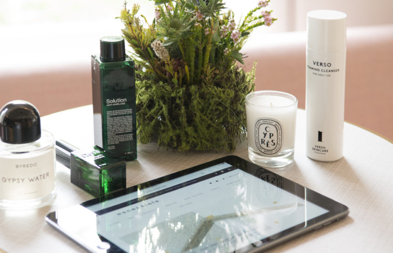 Shop online for makeup, skincare, and perfumes at escentials' new e-commerce site