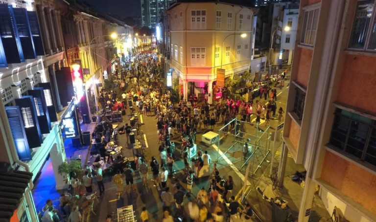 Best parties in Singapore, February 2017: This Keong Saik block party features the future of local musicians