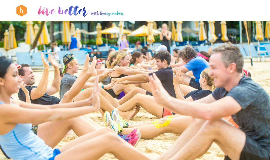 Live Better with Honeycombers: We're having a beachy bootcamp at Tanjong Beach Club on 18 February