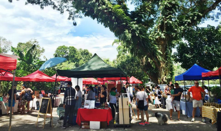 Farmer's markets in Singapore: Check out Open Farm Community Social Market for local produce, yoga, and artisanal food