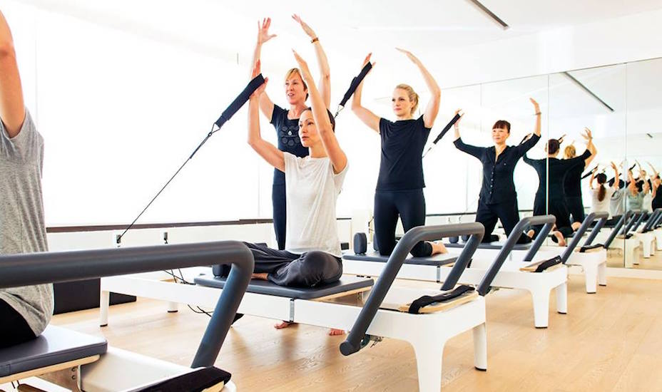 Como Shambhala's pilates classes