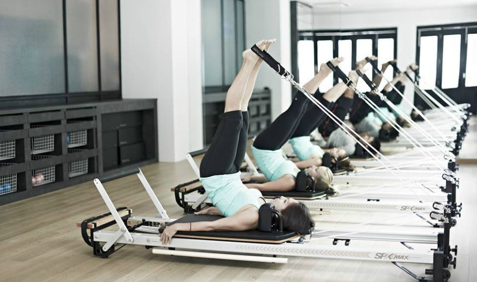 Upside Motion's reformer pilates classes