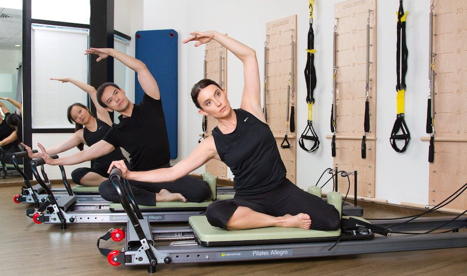 Core Fitness pilates classes