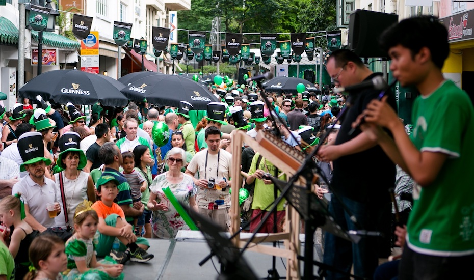 Saint Patrick's Day in Singapore: Celebrate this Irish street festival with the family at Circular Road
