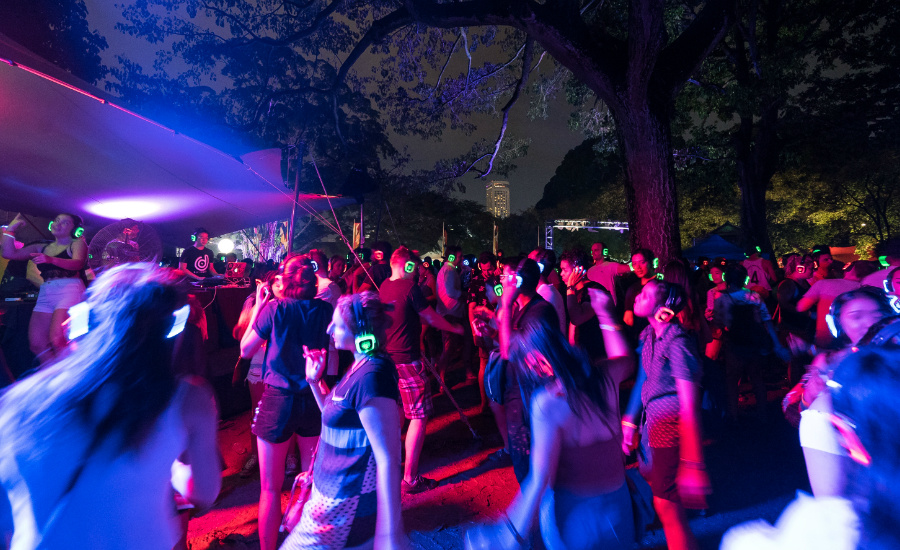 Silent Disco in Singapore: The quietest party in town runs for a whole month at i Light Marina Bay