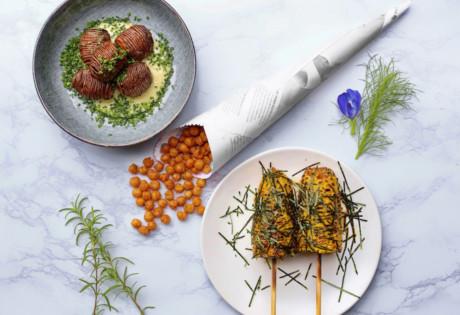 Vegetarian restaurants in Singapore: HRVST