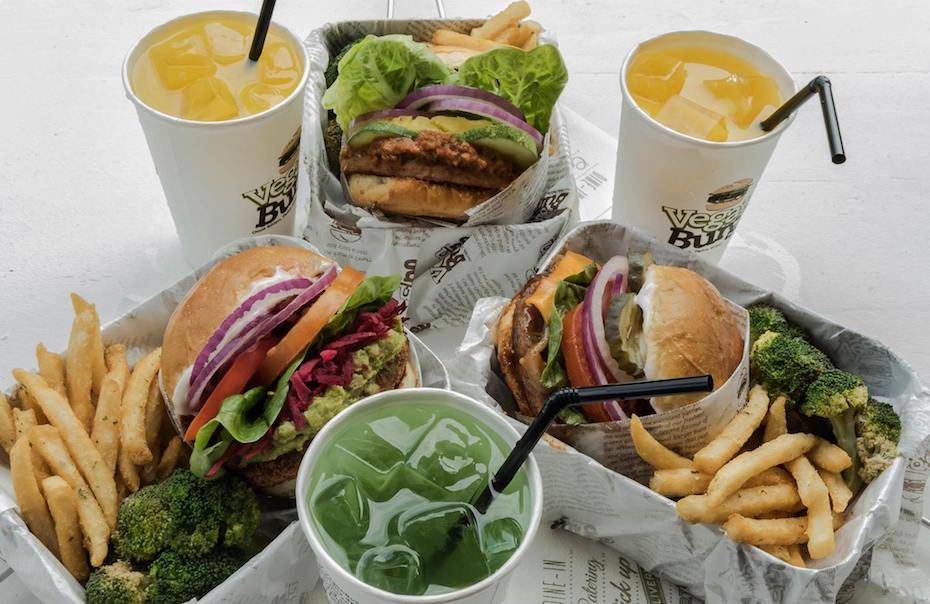 Vegan restaurants in Singapore: Veganburg