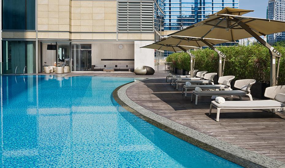 Swimming pool   East Hong Kong Hotel Tai Koo   Honeycombers Review