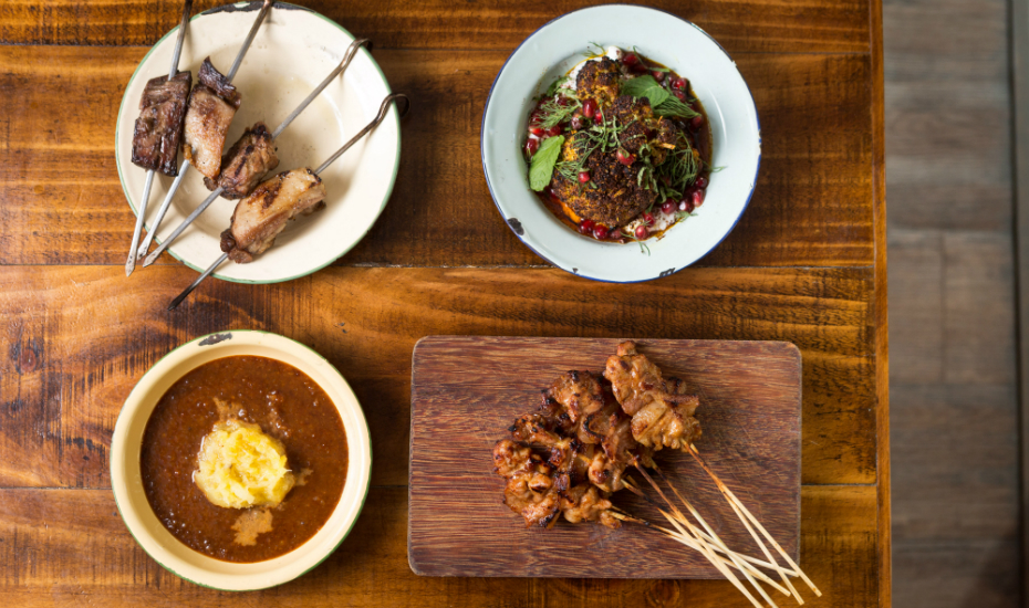 Things to do in April 2017 | Honeycombers Singapore | Moosehead's Supper Series | Satay platter
