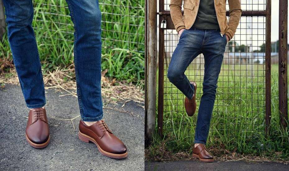 Pedro Singapore Denim and derby. Photography: courtesy of Pedro