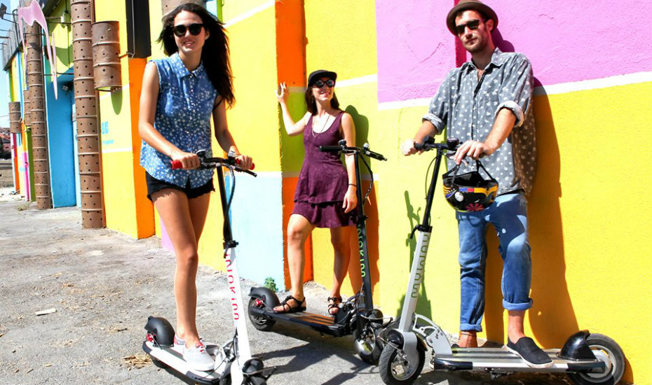 Ultimate guide to electric scooters in Singapore – shops, models and laws to know