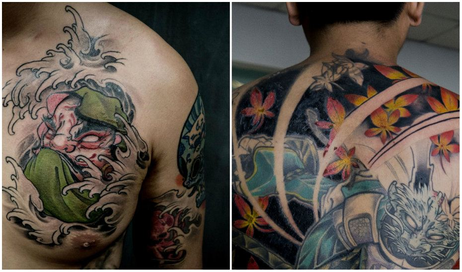 Tattoo studios in Singapore: of Gods and Monsters