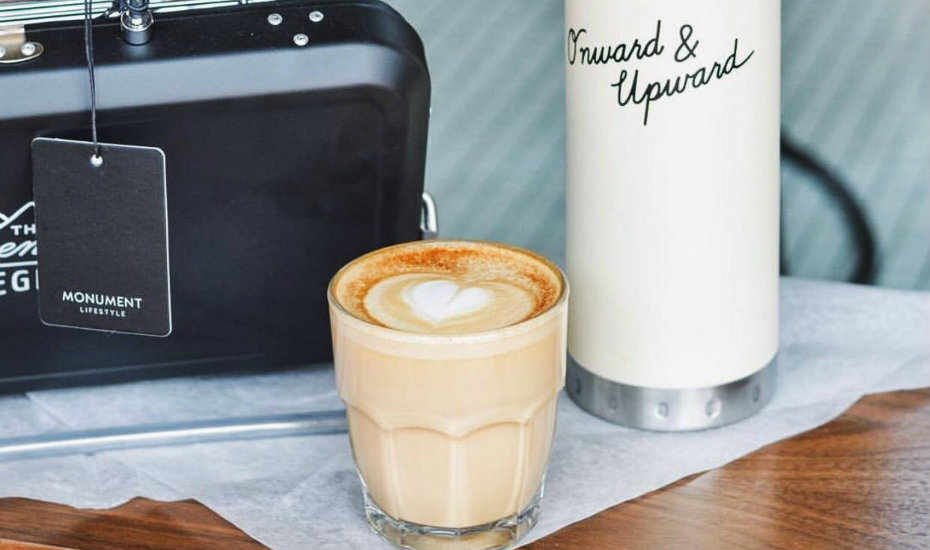 Shop clothes and coffee: Monument Lifestyle cafe at Duxton sells coffee, pastries, menswear and home decor