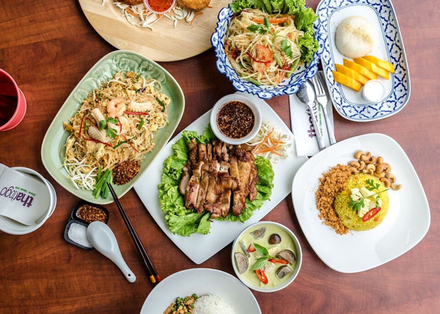 Food delivery services in Singapore: Thai To Go