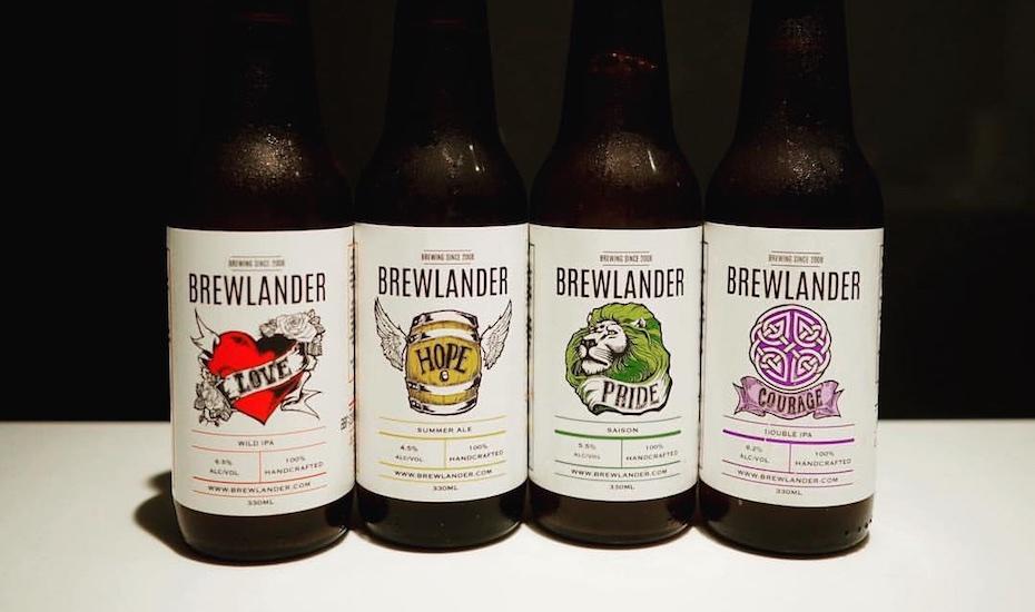 Brewlander's mainstay offerings