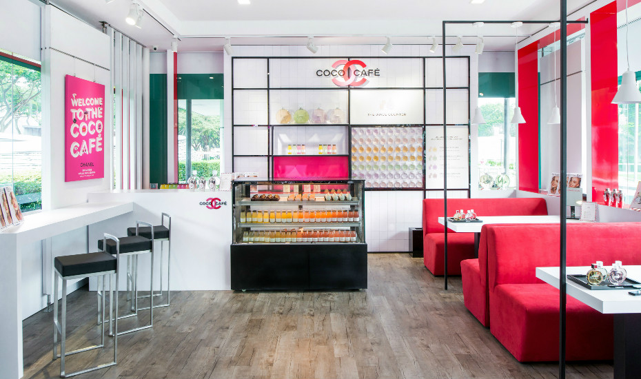 Highlights Of Chanel S Coco Cafe Singapore Free Express