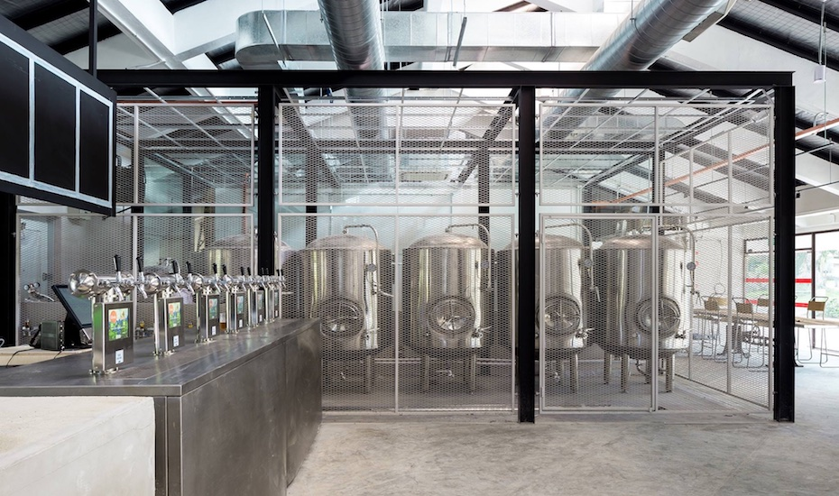 Little Island Brewing Co. brewery