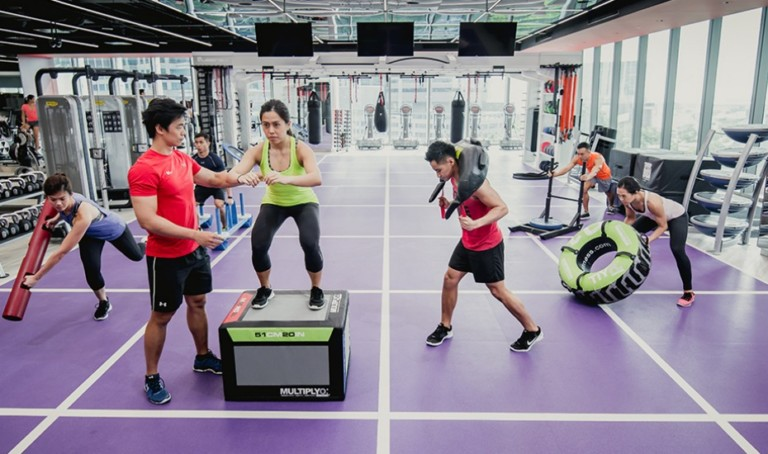 Gyms in Singapore: Virgin Active's group classes in Holland Village are a fun way to burn calories