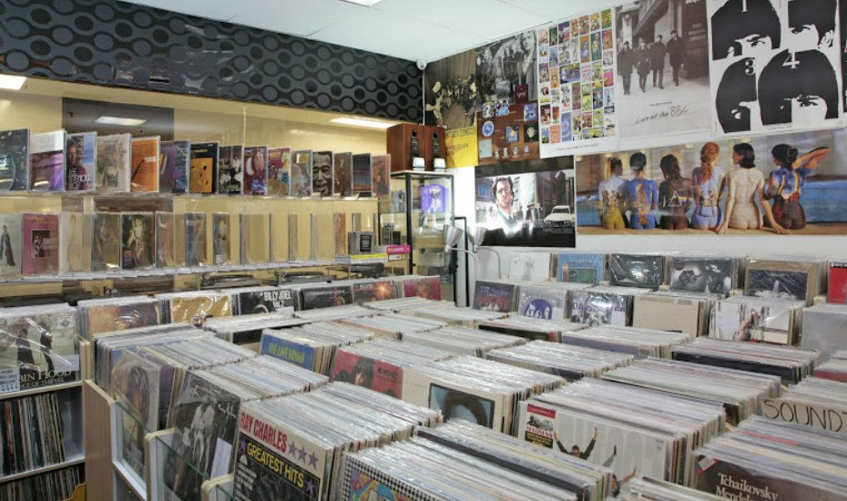 Vinyl shops in Singapore