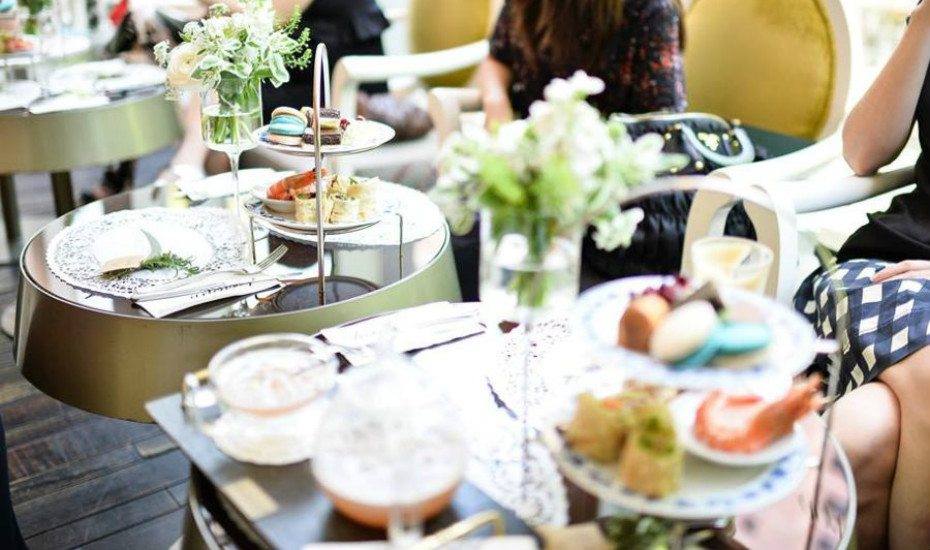 Arteastiq's weekday high tea