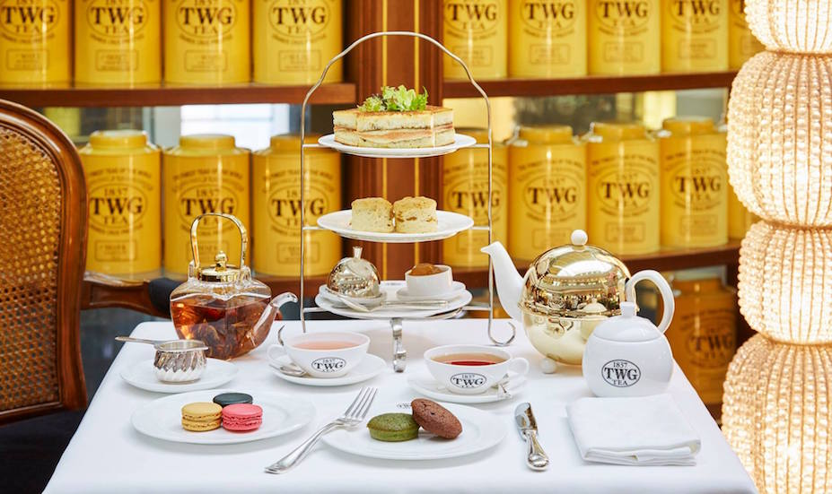 TWG high tea