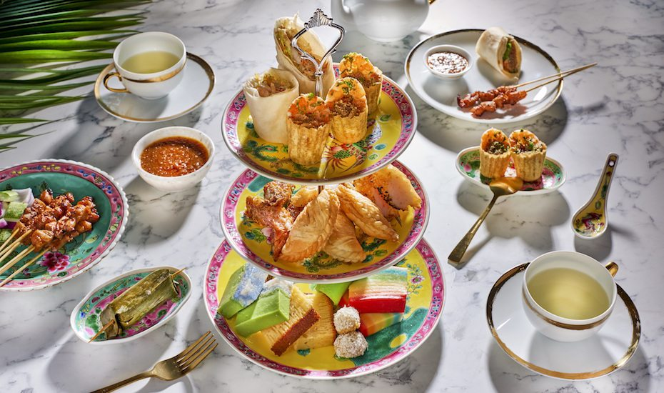Weekday high tea at Shangri-La Hotel Singapore