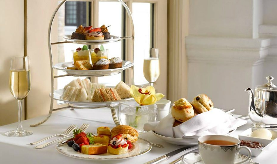 Tiffin Room high tea