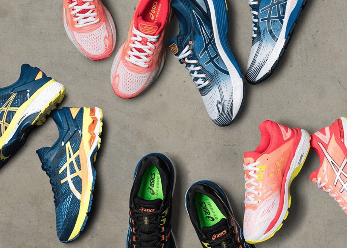 Running shoes in Singapore: Asics