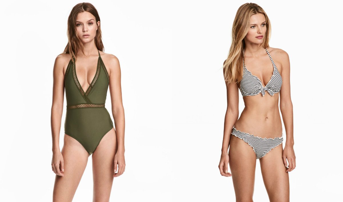 H&M affordable swimwear shop