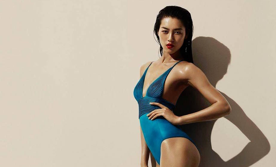 La Perla offers swimwear too