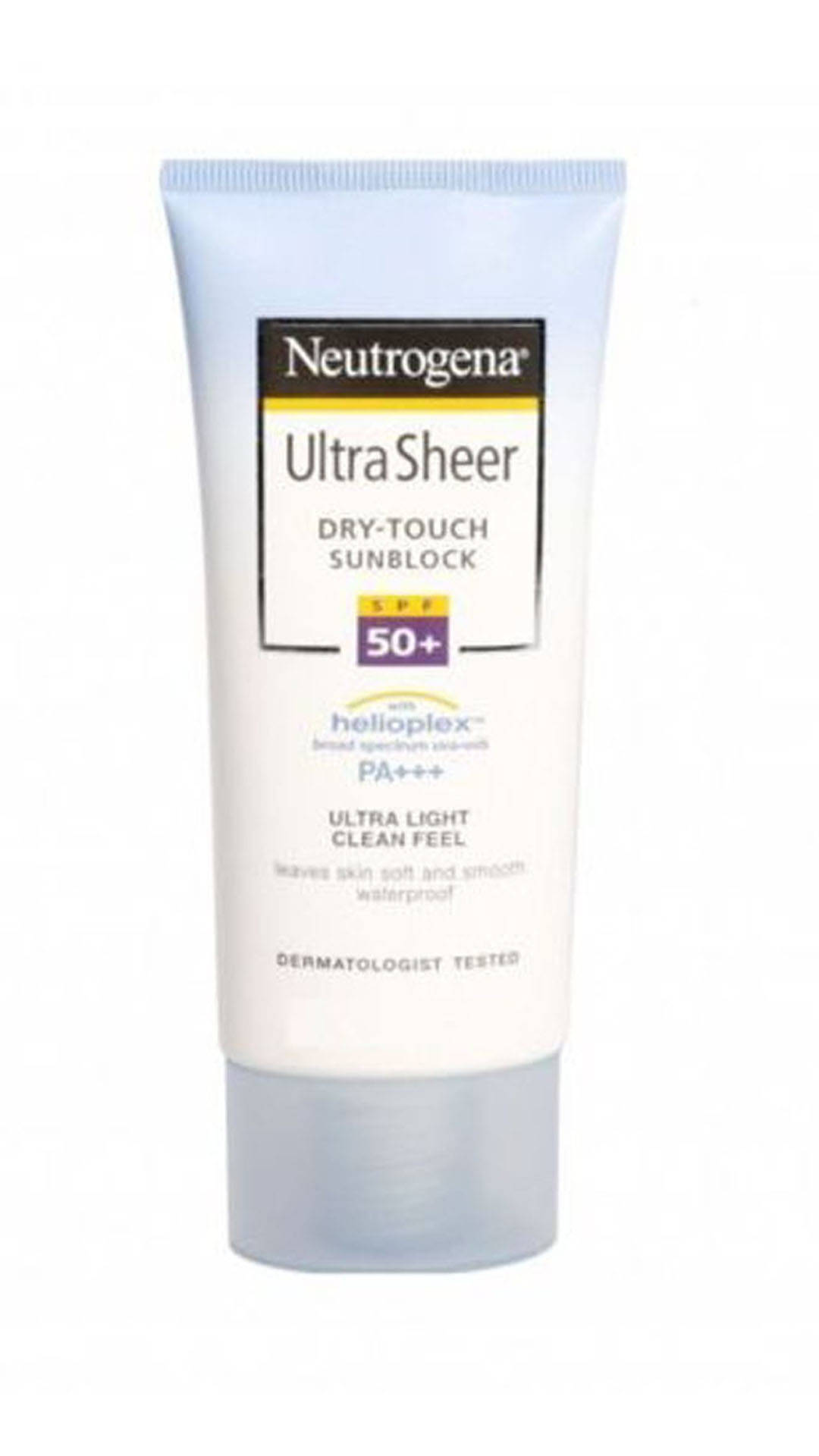 Sunscreens 101: Neutrogena Ultrasheer
