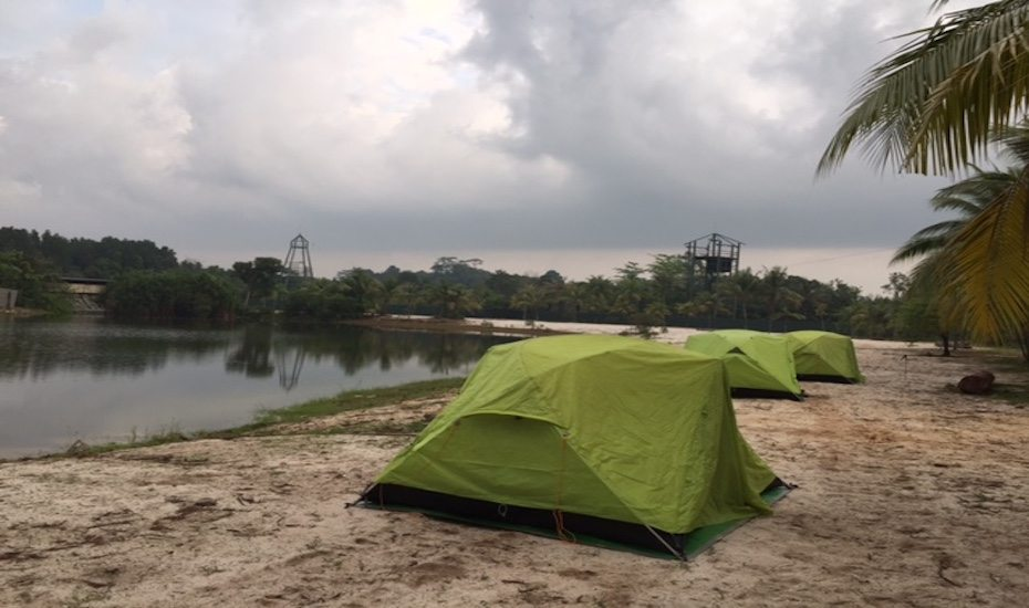 Experience a night of camping in Pulau Ubin at Pesta Ubin