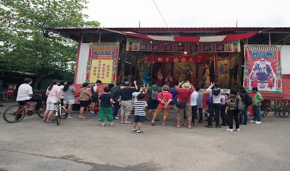 Tua Pek Kong festival features 6 days and 6 nights of non-stop festivities