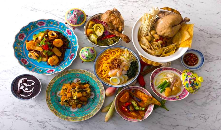 Enjoy delicacies from the Straits Settlement at Straits Cafe Singapore