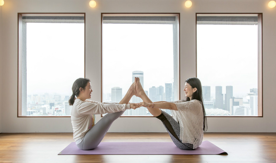 Yoga studios in Singapore: The Yoga School is your new sky sanctuary in the heart of the city