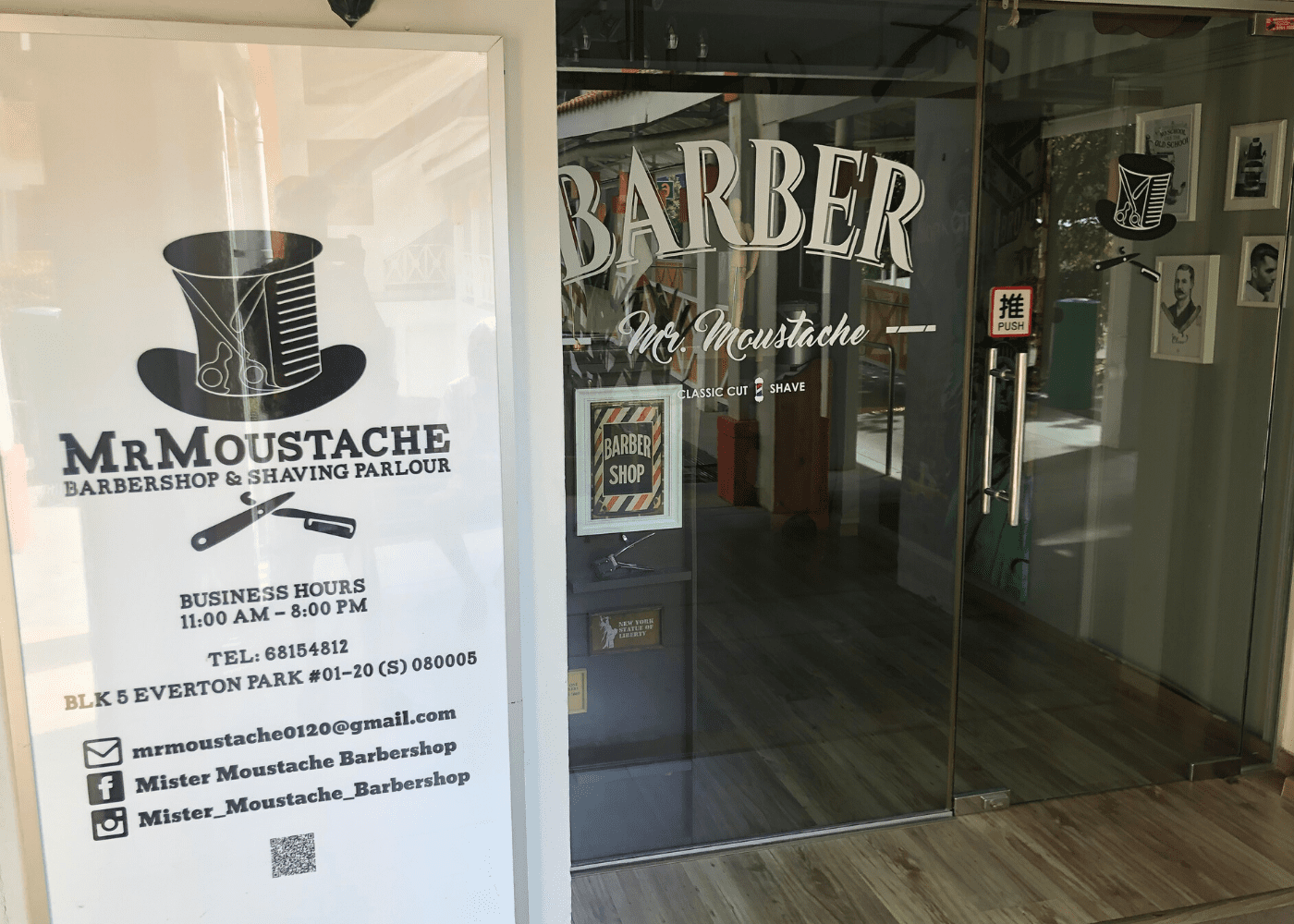 Everton Park: Mister Moustache Barbershop & Shaving Parlour