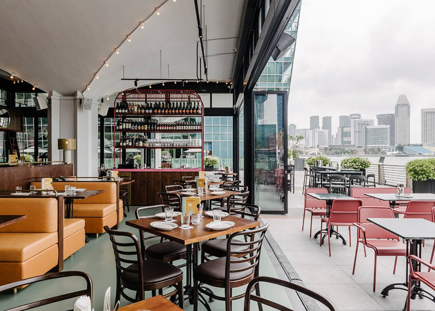 caffe fernet | Alfresco dining in Singapore