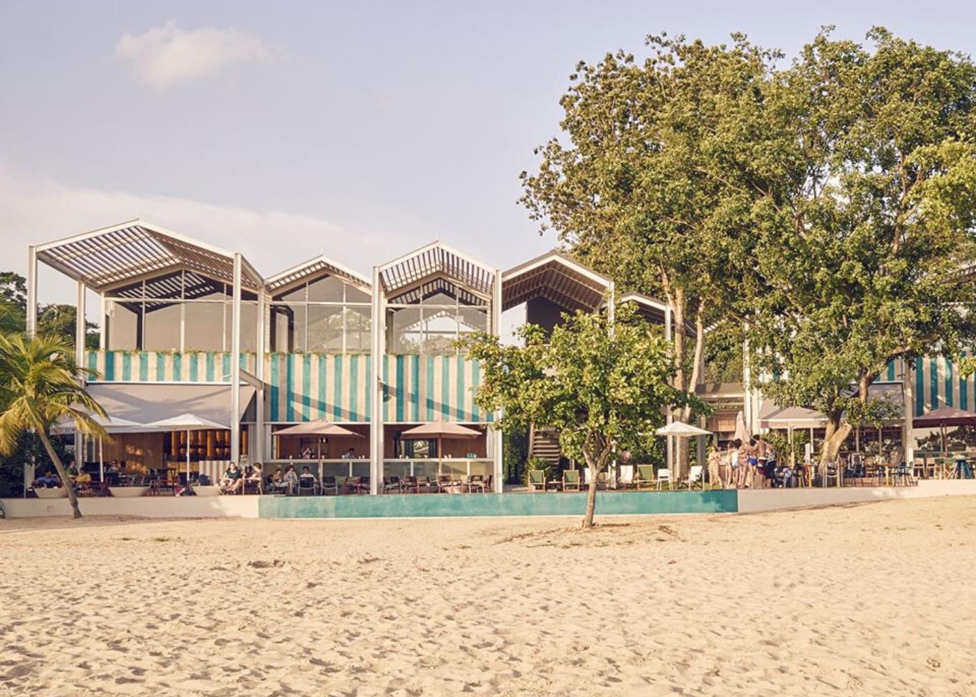 foc sentosa beach | Alfresco dining in Singapore