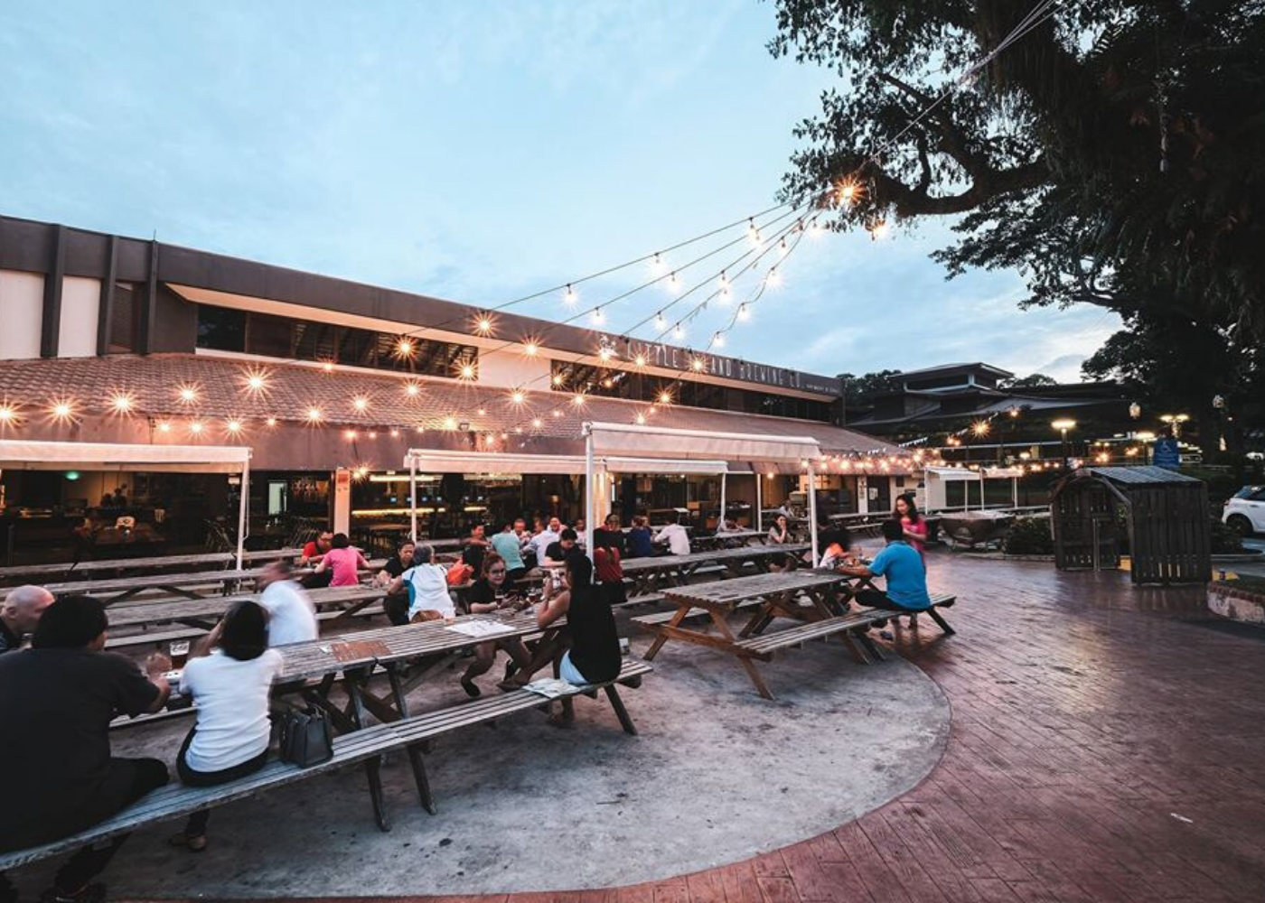 Little Island Brewing Co | Alfresco dining in Singapore