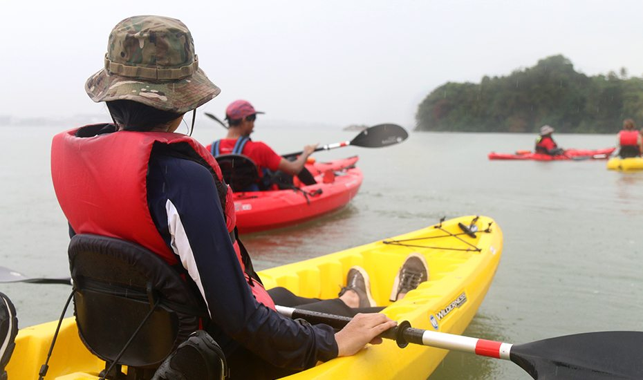 Mother's day guide: kayaking at Pulau Ubin