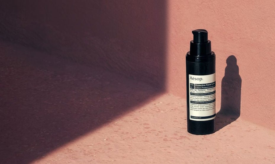 Sunscreens 101: Aesop Protective Lotion