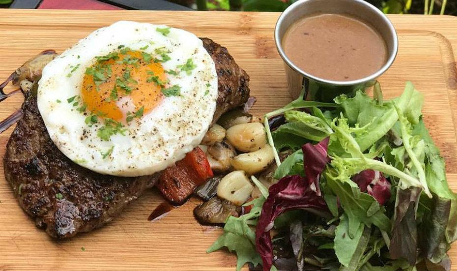 The Bravery's steak