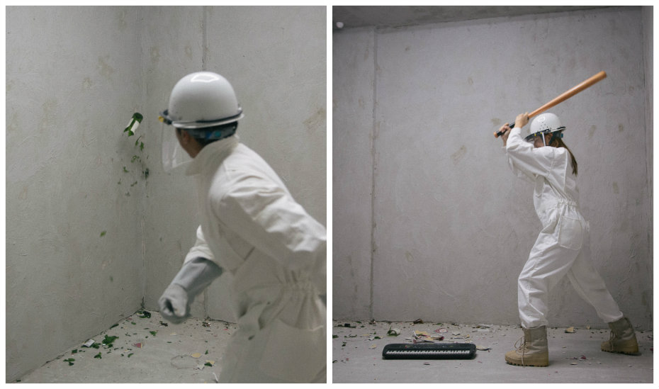 Singapore's first rage room: Enter The Fragment Room to relieve your stress by breaking and smashing things