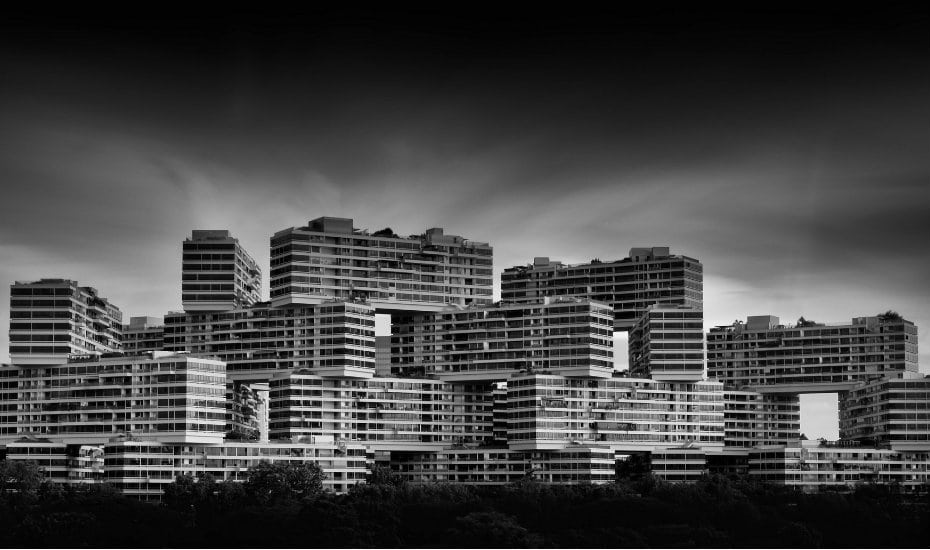 This impressive structure is definitely an architectural icon in Singapore. Photography: Mike Cartmell
