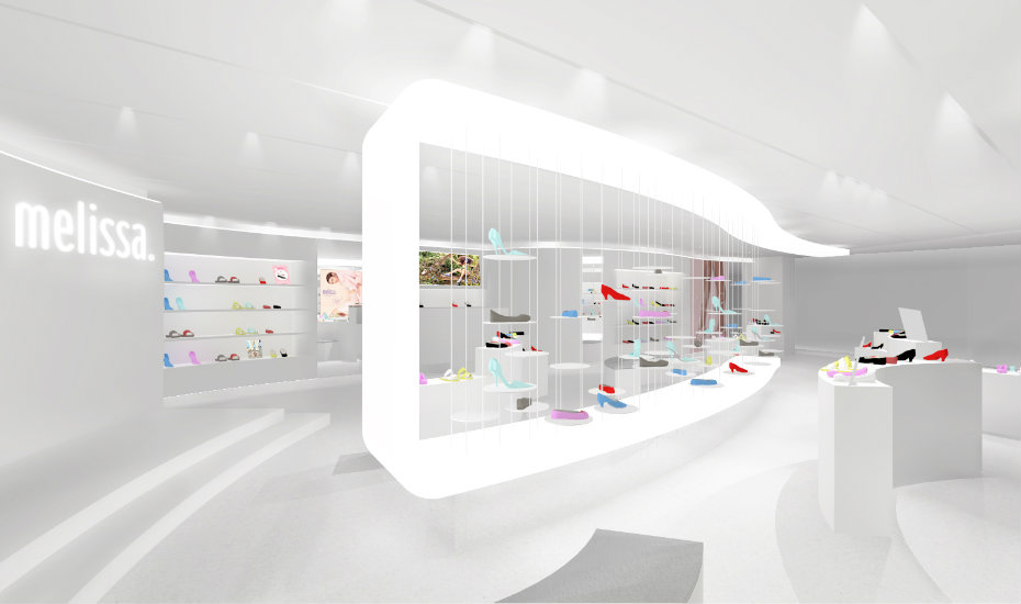 f1bd46a78266e8 Shoe shopping in Singapore  Melissa opens world s biggest flagship store at  Raffles City