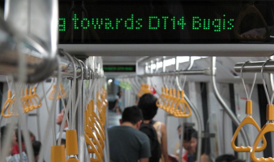 Trains | MRT | LRT | Getting around Singapore